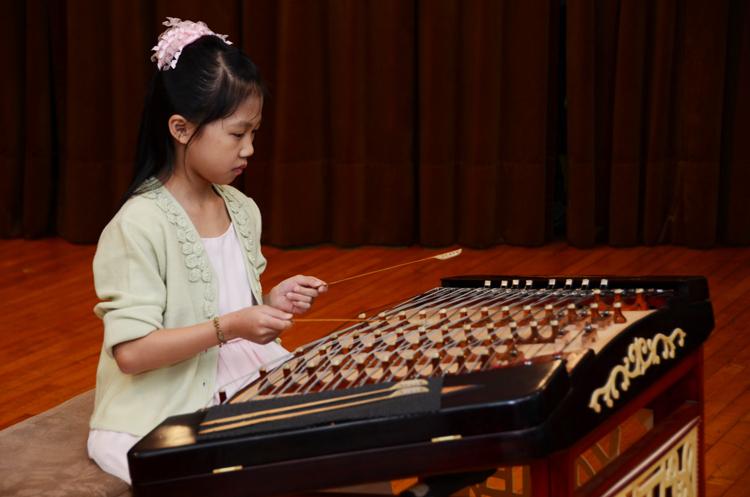 中国古典民族乐器之扬琴
