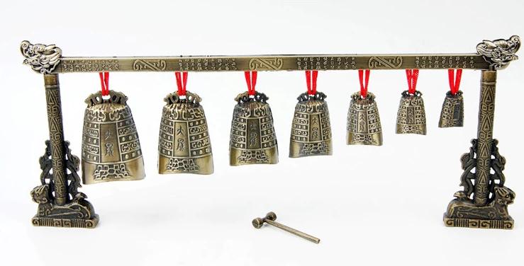 特色中国风古典仿古编钟,青铜器装饰乐器摆件
