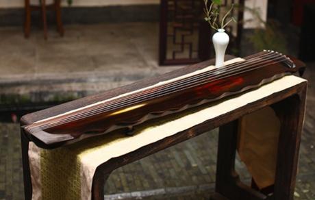 落霞式古琴,时尚古典中国风民