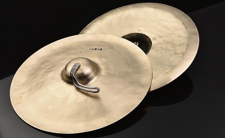 响铜锣鼓镲乐器,时尚古典中国风民族乐器