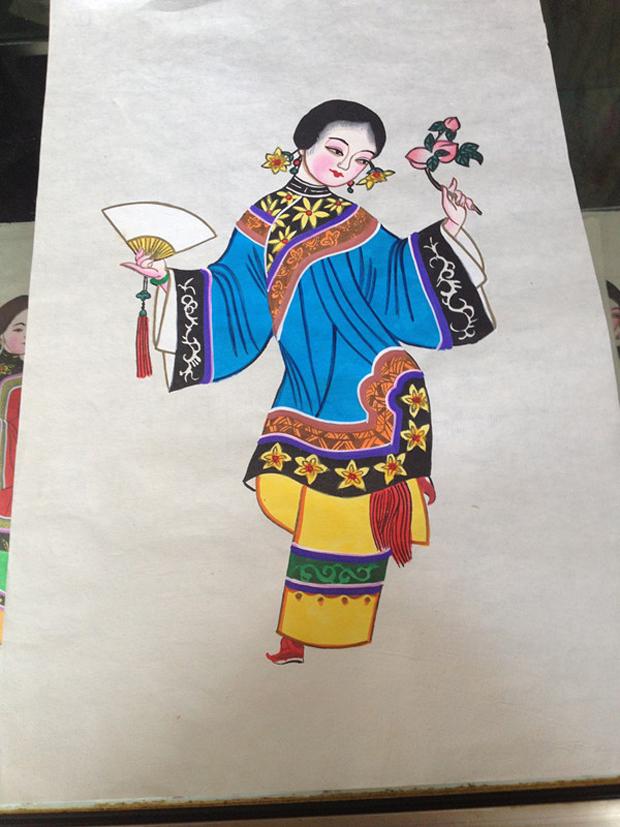 绵竹年画仕女系列