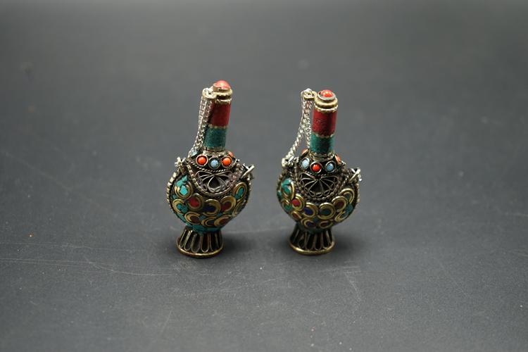 西藏尼泊尔民族风手工镶嵌松石