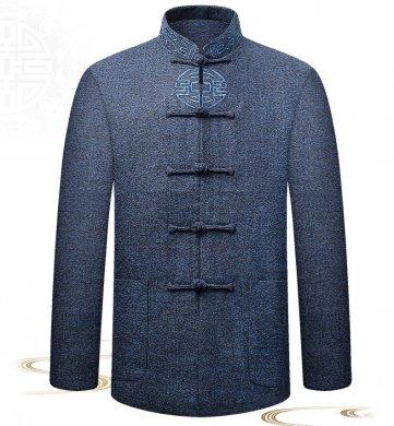 复古民国男装外套,中式唐装中