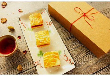 传统美食中式糕点心山楂糕
