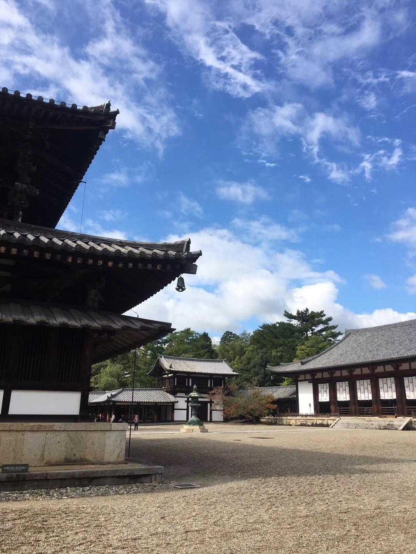 奈良·法隆寺,唐昭提寺佛教图片