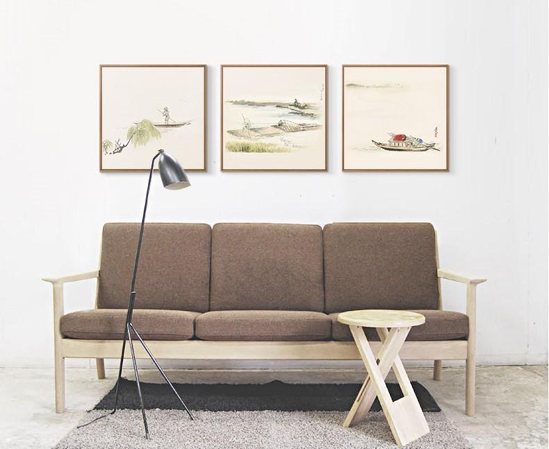 十款中国风装饰画,新中式中国水墨客厅挂画