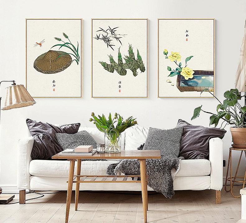 唯美24节气古风中国风装饰画