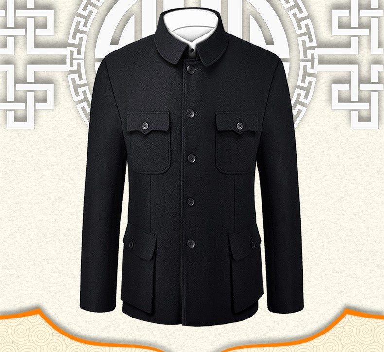 中国风民国中华立领中山装