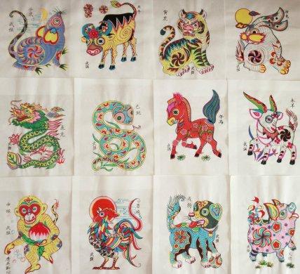 中国年画:栩栩如生的十