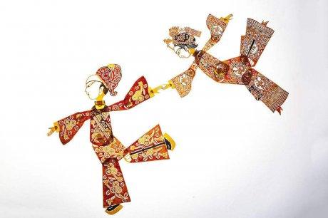 中国古老传统的民间艺术---皮影