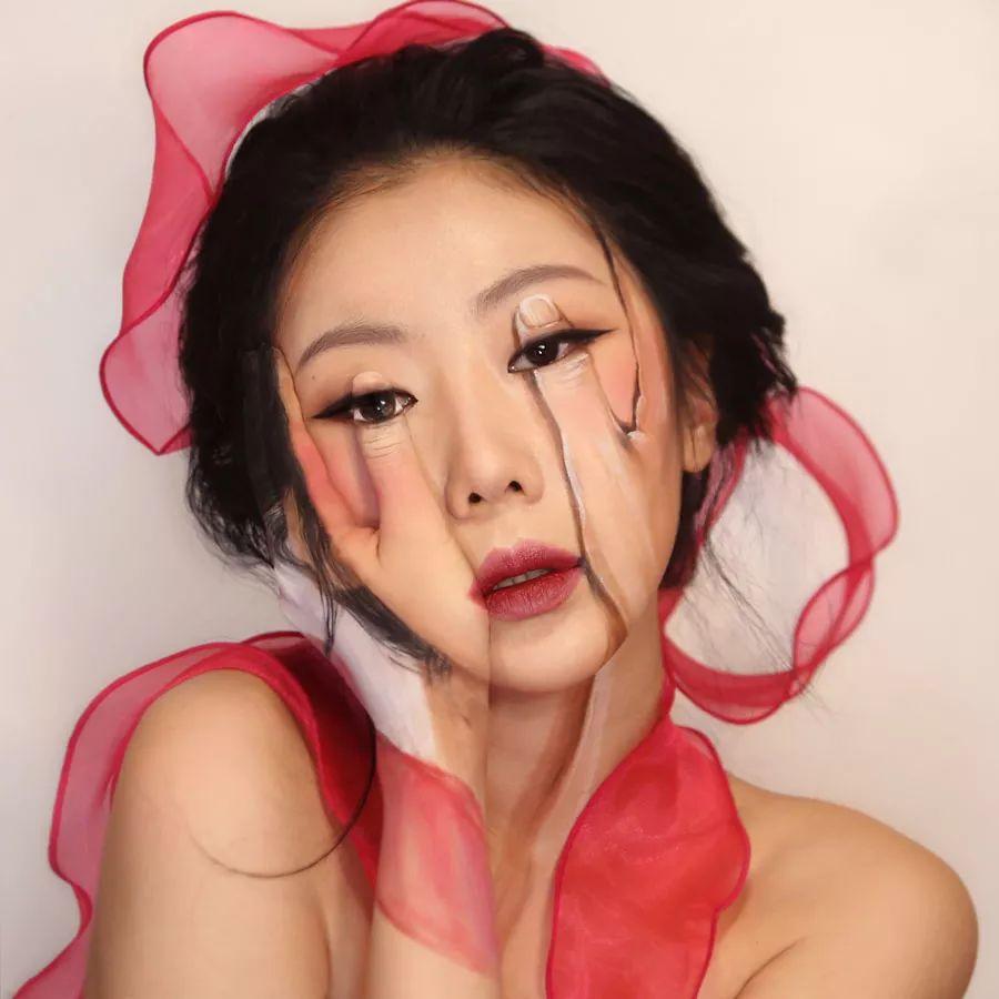 人体彩绘艺术:在皮肤上画画,美爆了!