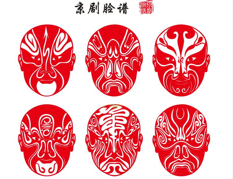 民俗古典剪纸:当京剧脸谱文化与剪纸艺术结合