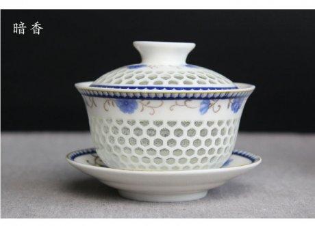 卡玻璃的瓷器茶具:14款手