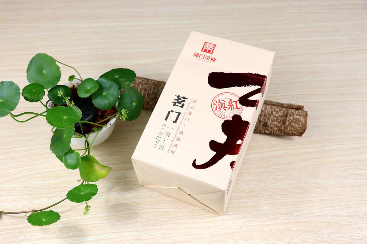 中国工夫茶叶包装设计