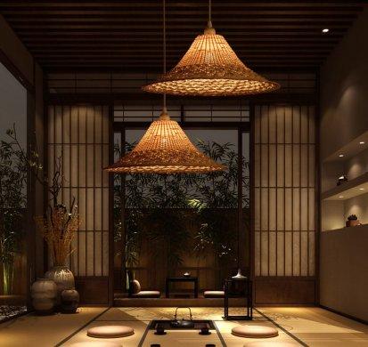 个性又时尚的创意竹编百搭竹灯