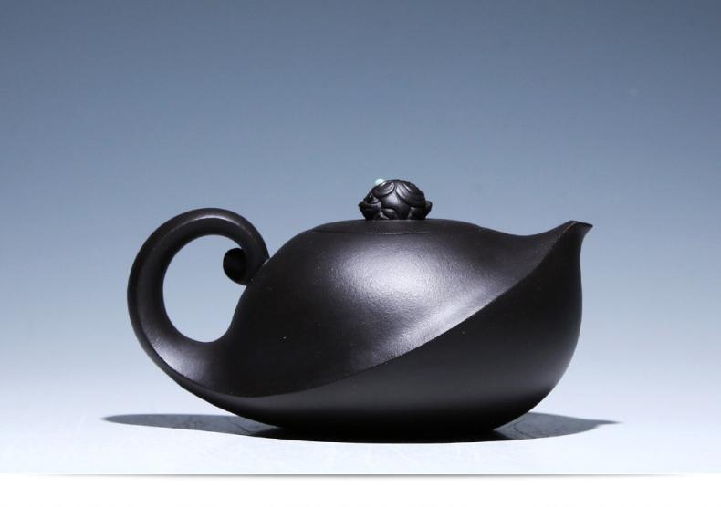 创意别致紫砂壶,个性手工美型外观紫砂壶