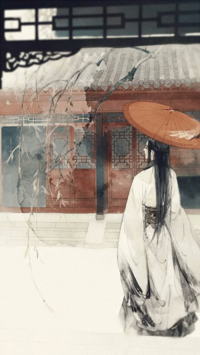 令人鼻酸的精美插画,中国风手绘插画