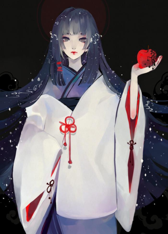 精美古风服饰插画,中国风手绘插画