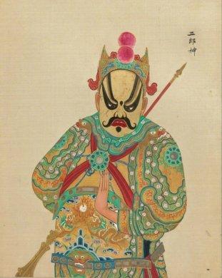 中国京剧艺术插画:九款清朝京