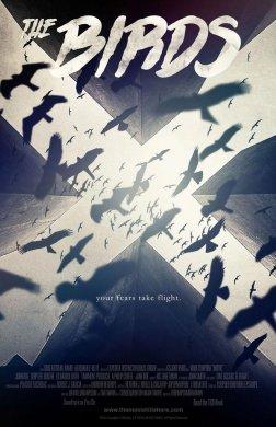 黑暗风格电影海报,简易个性海