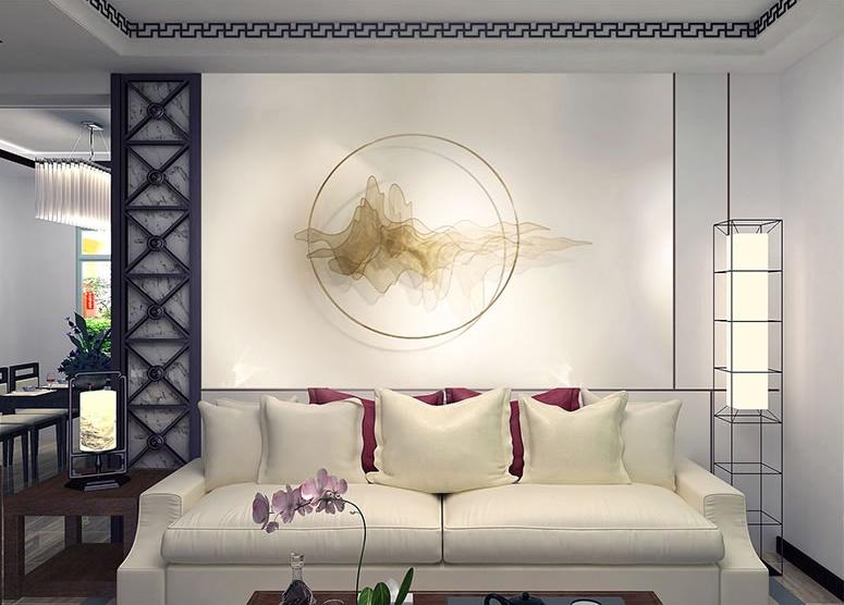 天水一色简约工艺品,精美华贵壁挂装饰工艺品