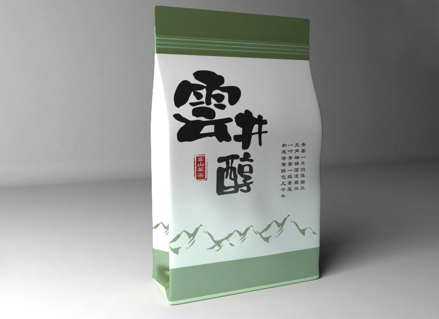 清新古朴茶叶包装设计,简洁大气茶叶包装设计
