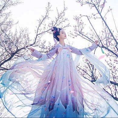 菩提雪齐胸襦裙,清新淡雅可爱