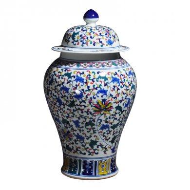精美的陶瓷,多彩的陶器