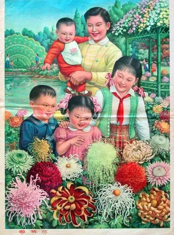 60年代古老的中国年画,值得珍藏的回忆!