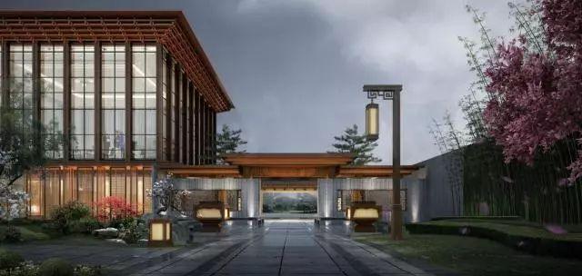 紫郡,论新中式建筑的意境与秩序