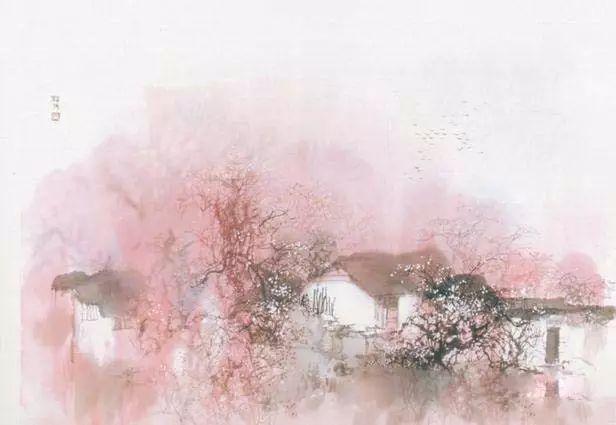 中国水墨画:唯美诗意国画山水