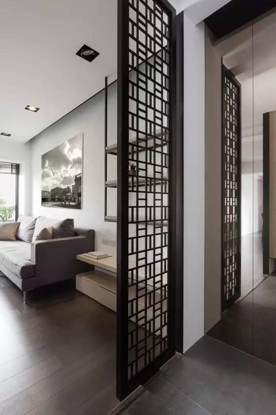 中式别墅屏风设计,隔不开的东方梦境