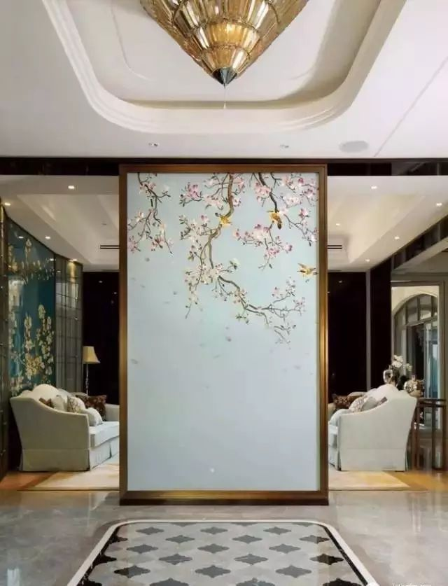 古装戏里的屏风如何运用到家居设计?