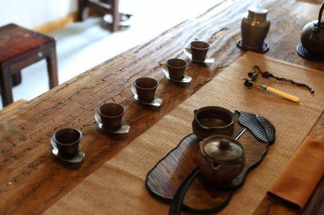 茶桌宏观世界,茶汤沁人心
