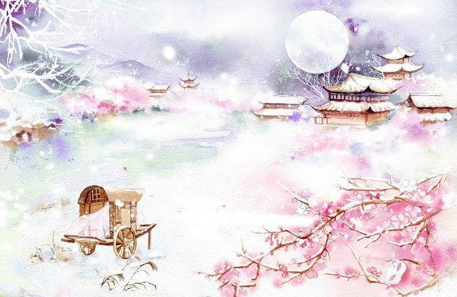 十款唯美背景古风图片:穿越千年梦回朝