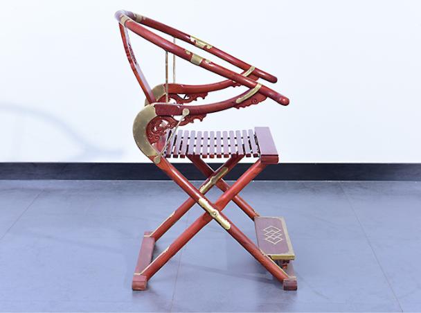中式实木折叠椅仿古皇宫椅子