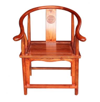 四款中式官帽椅,仿古浮雕实木