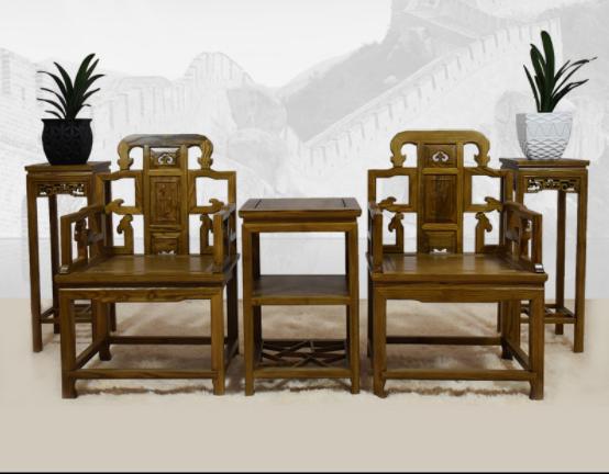 五款古典精雕中式实木椅子