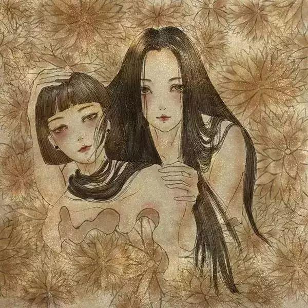 自带仙气的手绘插画,古典与现代的巧妙结合