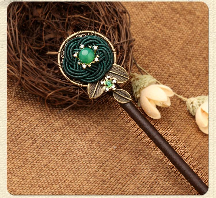 古典宫廷盘发簪子:古风中式发簪头饰
