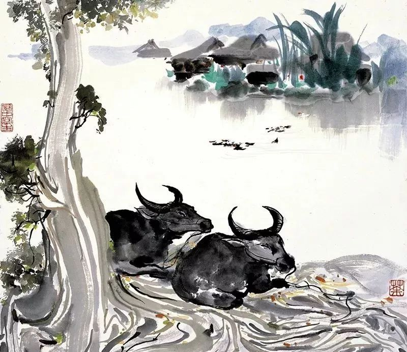 浅析吴冠中艺术深处:漂亮和美不同
