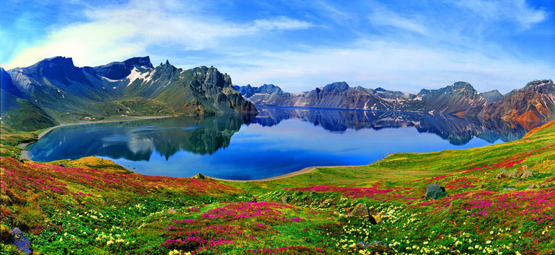 中国最美丽的地方:祖国大好山河风景
