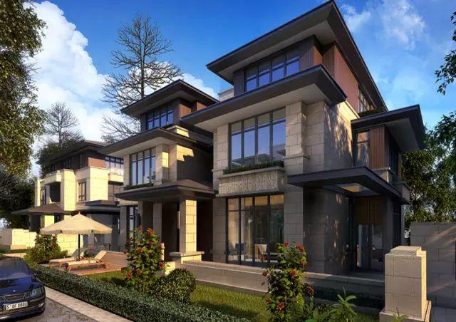新中式建筑,礼序东方美学传承