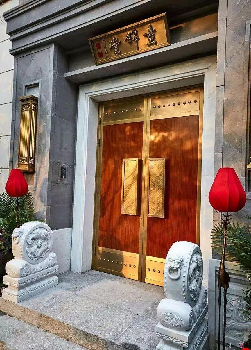 100个新中式入口,中国新中式建筑的精髓