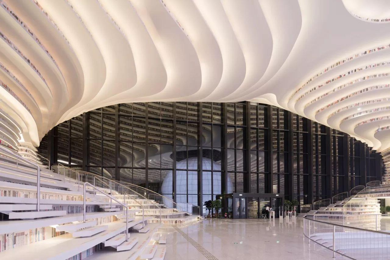 中国5个最美图书馆:阅读心灵的桃花源
