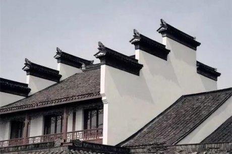 古建筑山墙,功能与美的结合
