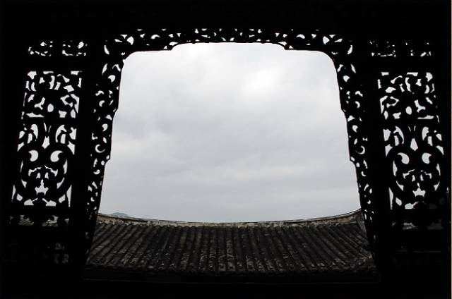 古建筑的眼睛,花样隔窗