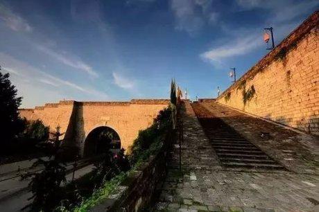 古城今壁相对影,南京城墙博物