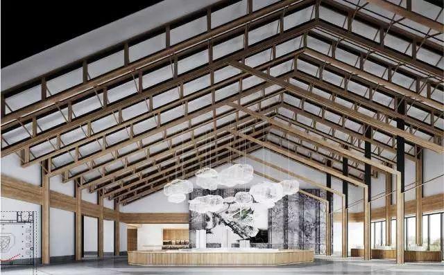 来自时光花絮,新中式建筑
