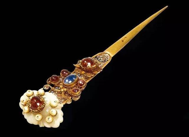 古代汉族发饰,古代玉簪